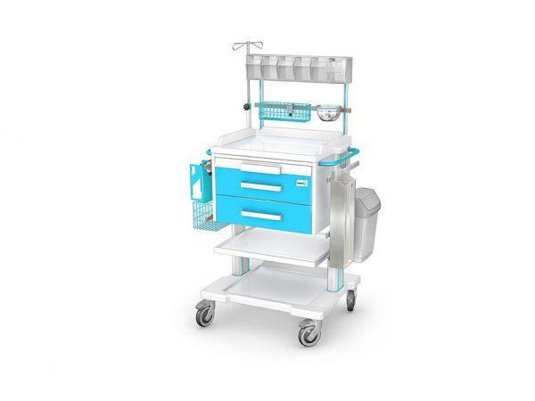 Wozek-anestezjologiczny-ANS-APAR-OZ-2ABSb-z-wyposażeniem