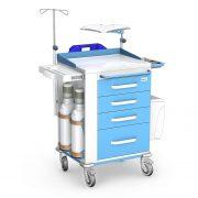 Wozek-medyczny-reanimacyjny-REN-06-ST-P-blue