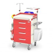 Wozek-reanimacyjny-REN-04-ST-P-red